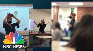 Video Appears To Show California Teacher Mocking Native Americans